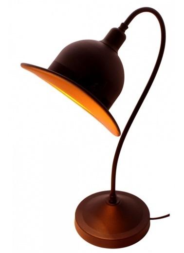 Avonni  ML-4093-COWBOY-SY Siyah Boyalı Masa Lambası E14 Metal 19x26cm Siyah